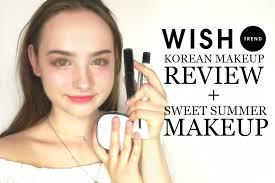 korean makeup review summer makeup