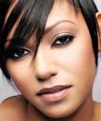 natural look dark skin makeup for