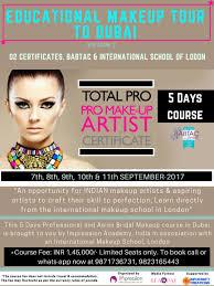 international exposure as a makeup artist