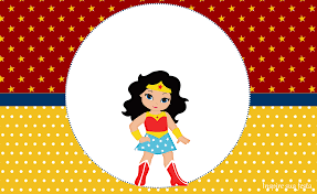 Wonder Woman Party Free Printable Kit 022 Png 1600 979