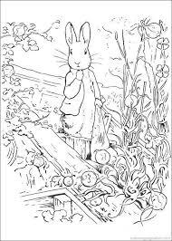 Peter Rabbit Coloring Pages 16 Kleurplaten Kleurboek