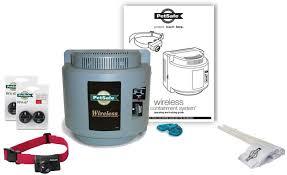 Amazon Com Petsafe Wireless Pet Containment System Pif 300 With 2 Extra Packs Of Batteries 1 Dog Petsafe Pet Supplies