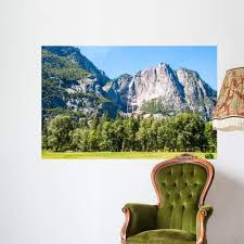 Amazon Com Wallmonkeys Yosemite National Park California Wall Mural Peel And Stick Graphic 60 In W X 39 In H Wm360154 Home Kitchen