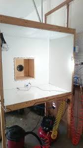powder coating booth gun oven