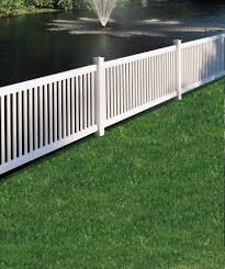 Bufftech Princeton Contemporary Vinyl Fence Liw Online