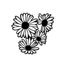 2020 16 15 6cm Daisy Flower Petals Decal Sticker Funny Car Window Bumper Novelty Jdm Drift Vinyl Decal Sticker From Xymy777 1 69 Dhgate Com