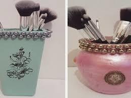 diy diy makeup brush holders diy