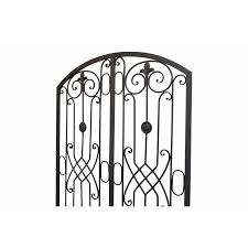 Fleur De Lis Living Metal Ornamental Fence Sculpture Wall Decor Reviews Wayfair