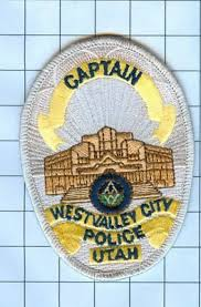 police patch embroidered mini patch