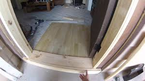 how to build a door frame for a shed