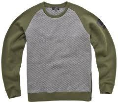 alpinestars elm fleece pullover green