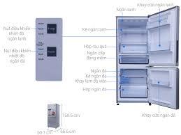 Kích thước tủ lạnh 1 cánh là bao nhiêu