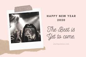 new year wishes quotes for social media caption