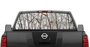 Snowstorm Camo Rear Window Decal Graphic For Truck Suv Van Ebay