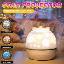 Led Sky Star Projection Lamp With 6 Sets Films Kids Bedroom Night Light Ocean Decor Kids Gift Decor For Birthday Party Walmart Com Walmart Com