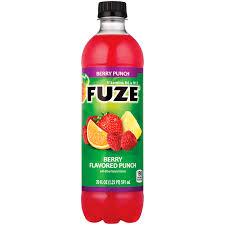 fuze berry punch 20 fl oz walmart
