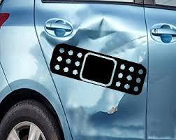 X2 9x2 5 Auto Car Truck Scratch Dent Decal Sticker Vinyl Bandaid Bandage
