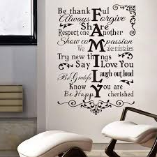Family Wall Sticker Quote Thankful Love Greateful Home Decor Be Happy Household Decal Bedroom Living Room Decoration Art Mural Home Wall Stickers Horse Wall Decals From Micandy 10 43 Dhgate Com