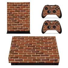 Brick Wall Xbox One X Vinyl Decal Skin Sticker Consoleskins Co