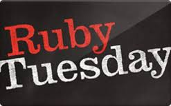 turn ruby tuesday gift cards into cash