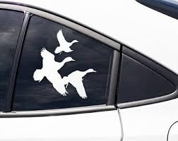 Geese Hunter Decal Etsy