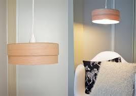 diy wood veneer pendant lamp