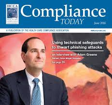 CT - June Adam Greene - The Compliance and Ethics Blog