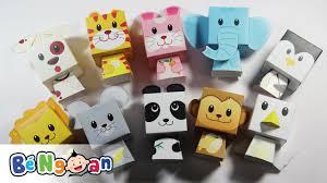 Hướng dẫn gấp các con vật bằng giấy ~ How to paper craft animal ...