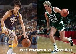 Pete Maravich VS Larry Bird [Video Highlights]