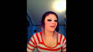 scene kid makeup and hair tutorial