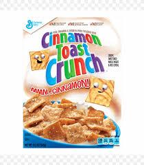breakfast cereal cinnamon toast crunch