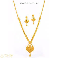 22k gold necklace sets gold jewellery