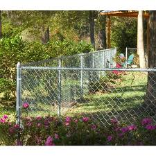 3 5 Ft H X 50 Ft L 11 5 Gauge Galvanized Steel Chain Link Fence Fabric In The Chain Link Fence Fabric Department At Lowes Com