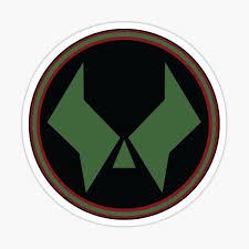 Dr Doom Logo Sticker By Lurknz Redbubble