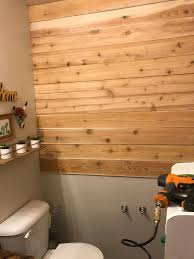 Diy Wood Plank Wall On A Budget Three Clementines