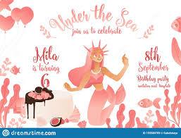 Tarjetas E Invitaciones Rosadas De La Plantilla Para Una Fiesta De