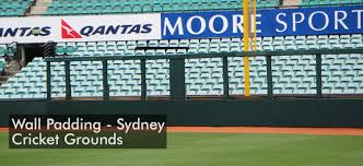 Baseball Fence Padding Outfield Wall Padding For Sydney Cricket Grounds