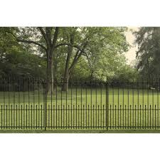 Yardlink Grand Empire Xl 4 In X 4 In W X 5 Ft H Black Galvanized Steel Universal Fence Post In The Metal Fence Posts Department At Lowes Com