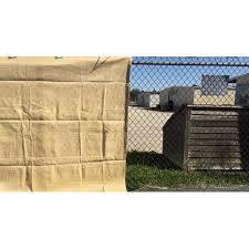 8 Ft X 18 Ft Sand Color Premium Privacy Fence Screen 90 Blockage Great For Back Yard Fence Construction Site Tennis Court Kennel Made By Xtarps Walmart Com Walmart Com