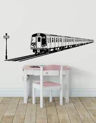 Nyc Subway Train Wall Decal Urban Theme Wall Decor Os Es107 Stickerbrand