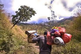 volcano in an incredible journey to gunung rinjani in