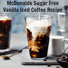 sugar free iced coffee recipe