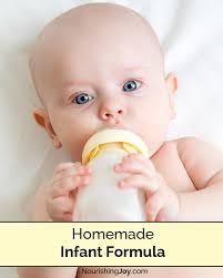homemade infant formula nourishing joy
