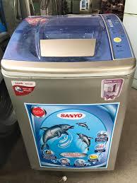 Máy giặt Sanyo 9kg | ĐỒ CŨ CẨM PHẢ - ĐIỆN MÁY RẺ CỦA NGƯỜI CẨM PHẢ
