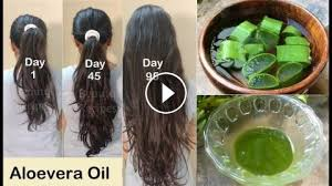 double hair growth aloevera hair oil