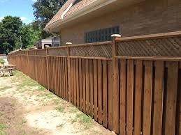 Wood Fencing Installation Pressure Treated Cedar Fencing Premier Fencing