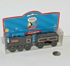 wooden railway train tank engine