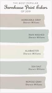 the most popular farmhouse paint colors