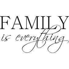 Shop Design On Style Family Is Everything Vinyl Wall Art Quote On Sale Overstock 5258071