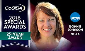 Special Awards Salute: Bonnie Johnson (NCAA), 25-Year Award - CoSIDA
